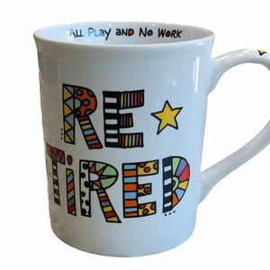 """LORRIE VEASEY """" RETIRED"""" mug by Our name us Mud"""